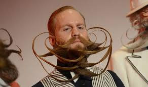 Beard, Mustache Unique International Competition In Germany