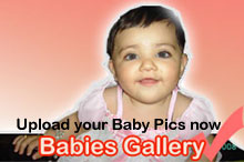 Upload photos of your babies on urdumaza.com