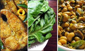 Fish, Beans And Spinach Help Calm Sleep