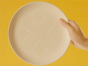 The Plate Is Designed To Reduce Calories In Food