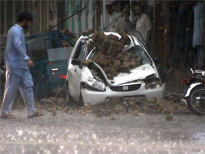 4 Killed 112 People Injured  Torrential Rains In Kpk