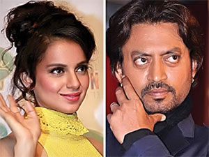 Irfan Khan And Kangna Will Work In Joint Film Of Indian And France