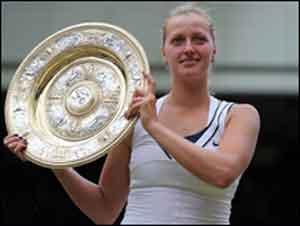Petra Kvitova New Wimbledon Champion
