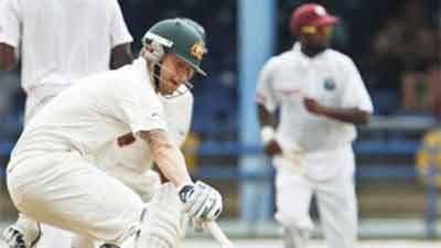 Port Of Spain Australia Got Lead Of 127 Runs