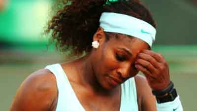 French Open Sareena Willian Ko Upset Shikast