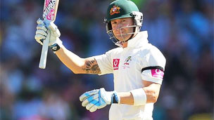 Aussies Captains Michael Clark Made Suplended Century In Test Match Against India In Chinnai