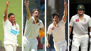 Naib Capten Sameet 4 Australwi Cricketer Moatul