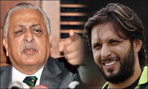 Ijaz Butt Advised Afridi To Give More Attention Toward His Fitness If He Wanted To Play World Cup