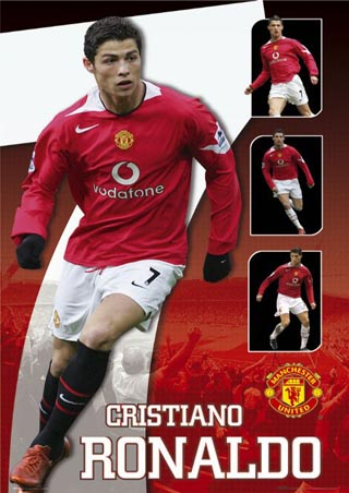 Christiano Ronaldo Of Manchester United Player And Purtogal Super Star Wins Player Of The Year Award
