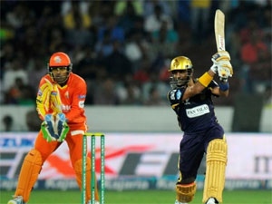 Kolkata Night Rider Beat Lahore Lions In Champion League