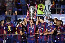 Barcelona Club Won The Champions League Title