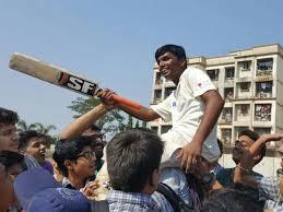 Mumbai Student 1000 Runs Record Innings