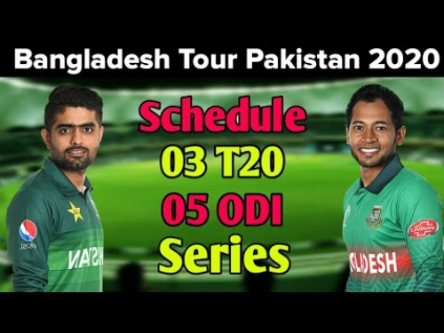Pakistan Vs Bangladesh Series 2020 Schedule Announced