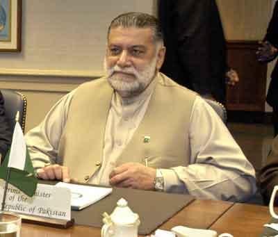 Zafarullah Khan Jamali President Of Pakistan Hockey