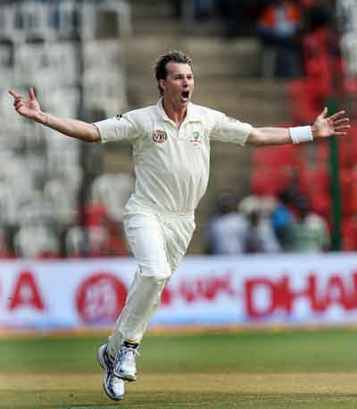 India 313 For Loss Of 8 Wickets On Third Day Of First Test Australia Tour Of India 2008