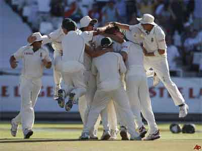 South Africa Levelled Test Series By Beating England