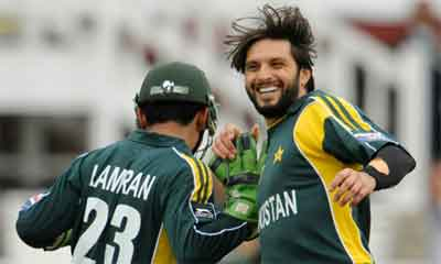 Afridi Back In T20 Today