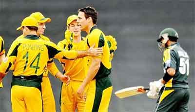 Australia Na Pakistan Ko Hra Dia