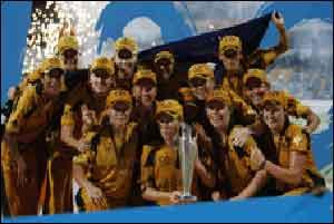 Australia Women Team Won Women T20 Worldcup 2010 By Beating Newzealand Women Team