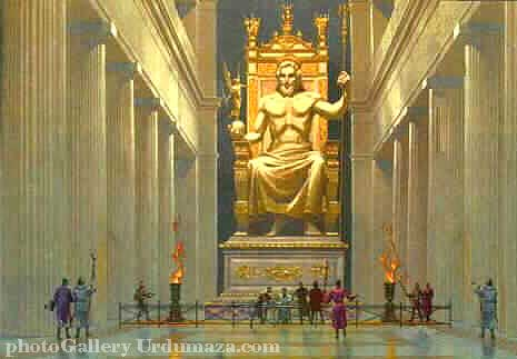 The Statue of Zeus at Olympia Zeus Statue Wallpaper